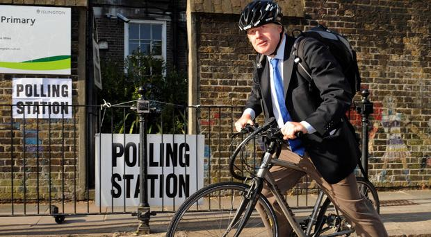 Mayor of London Boris Johnson had a foul-mouthed exchange with a taxi driver in north London