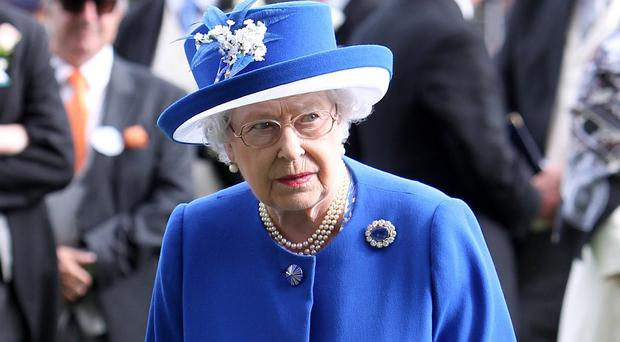 The Queen enjoys a day at the races on day two of the 2015 Royal Ascot Meeting