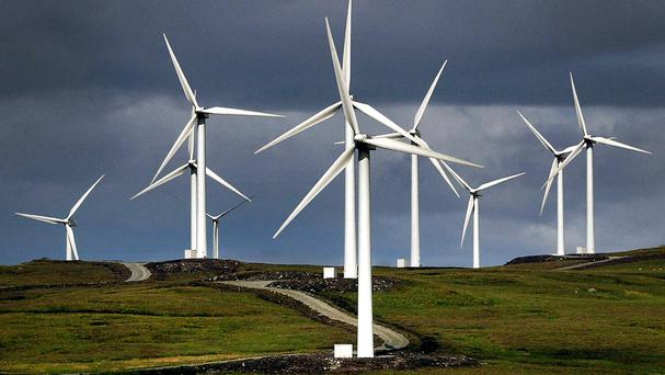 The Tories promised ahead of the election to end new public subsidies for onshore wind farms