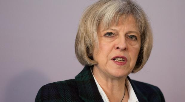 Home Secretary Theresa May has addressed the families of those at risk of being lured into extremism