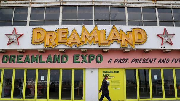 The Dreamland site in Margate, Kent, which has undergone a massive restoration