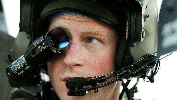 Prince Harry had a decade of full-time military service