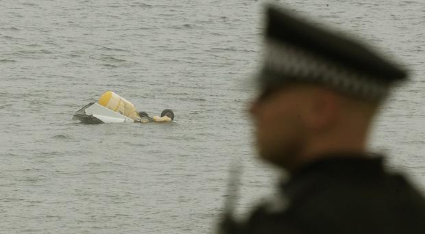 The Super Puma was carrying 16 passengers and two crew from the Borgsten Dolphin platform when it crashed into the sea on its approach to Sumburgh Airport