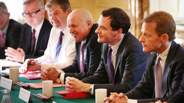 George Osborne and Iain Duncan Smith are determined to push through welfare cuts