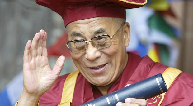 The Dalai Lama is to face a counter protest when he visits the UK