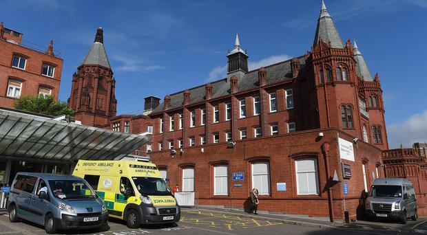 Trauma teams at Birmingham Children's Hospital were treating the five people seriously injured in a road crash