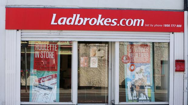The Ladbrokes brand accounts for 20% of betting shop licences in Northern Ireland with around 70 shops