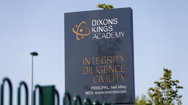 The stabbed teacher worked at the Dixons King Academy