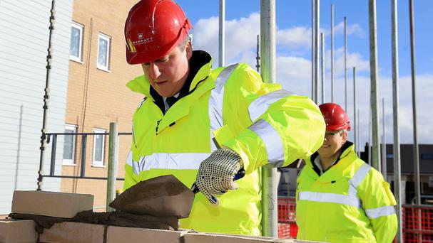 David Cameron's administration sold off enough land to allow 109,590 new homes to be built by the end of 2014-15