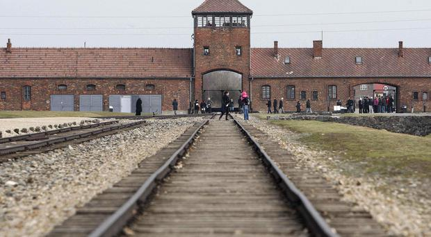 Polish police said the teenagers were spotted acting suspiciously at the Auschwitz-Birkenau State Museum