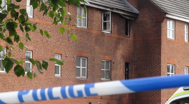 Edward Green and Amy Smith, and her six-and-a-half-month-old daughter Ruby-Grace Gaunt, died when a fire broke out in Langley Mill in the early hours of Sunday