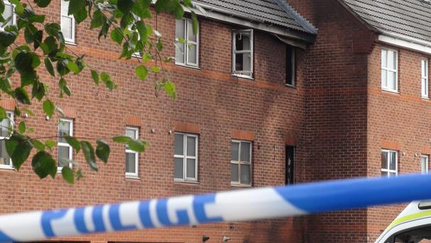 Three people died when a fire broke out in Langley Mill in the early hours of Sunday