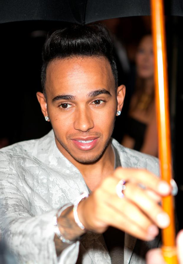 Lunch date: Lewis Hamilton