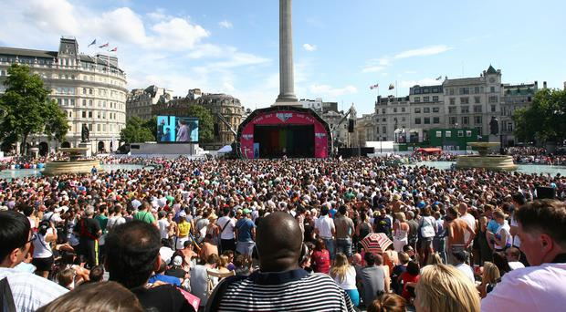 Last year more than 750,000 people attended Pride In London