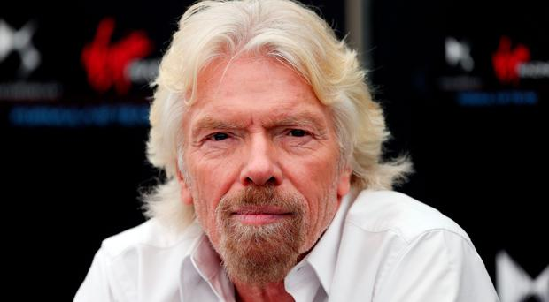 Proud: Richard Branson