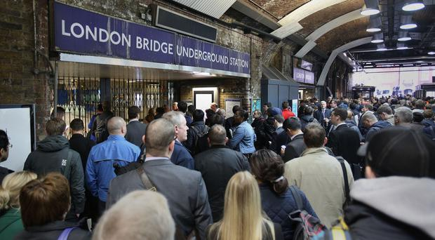 Tube passenger numbers have soared over the past decade and overcrowding is