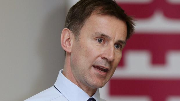 Health Secretary Jeremy Hunt has called on people to do more to look out for each other