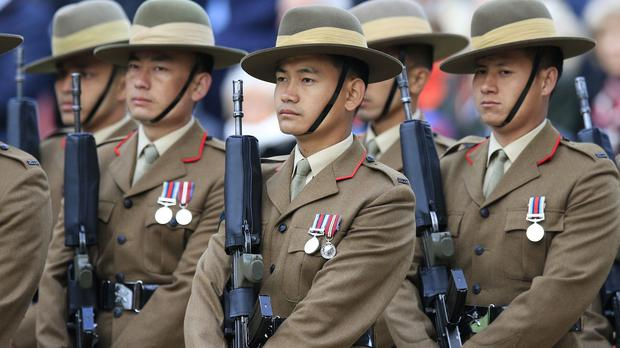 The Prince of Wales has paid tribute to the Gurkhas