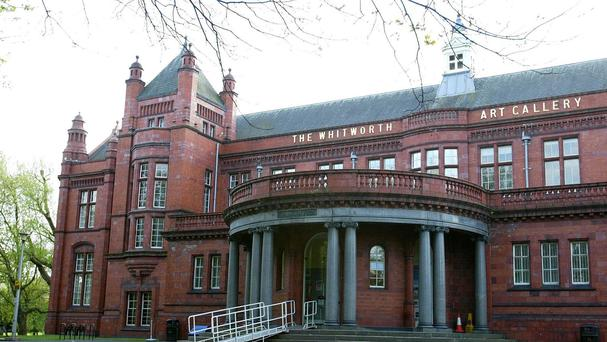 The Whitworth Gallery.