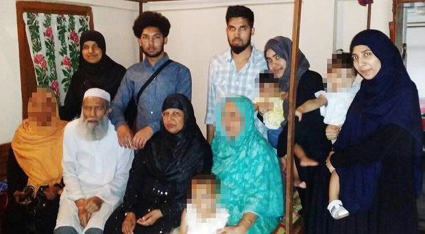 The family is feared to have travelled to Syria (Bedfordshire Police/PA)