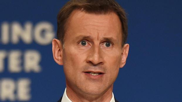 Health Secretary Jeremy Hunt has warned that failure to hit Islamic State could be taken as weakness by the terror group