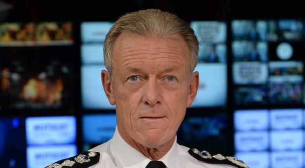 Sir Bernard Hogan-Howe fielded questions from young people