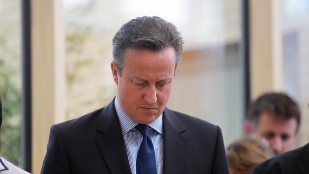 Prime Minister David Cameron said a memorial will be created for victims of terror attacks overseas