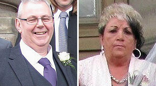 Christopher and Sharon Bell, who died in the Tunisia beach massacre (West Yorkshire Police)