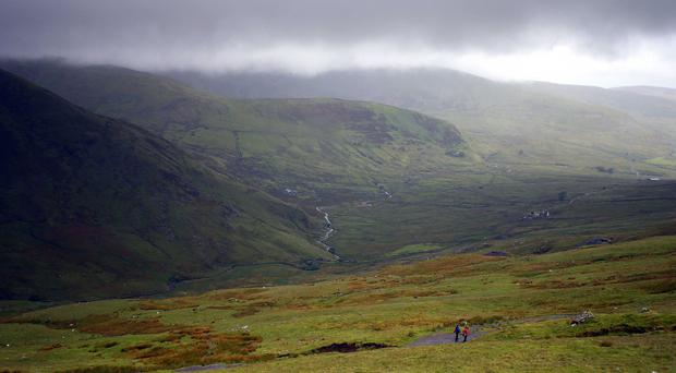One of the walkers seriously injured in a lightning strike in Brecon Beacons is showing signs of improvement