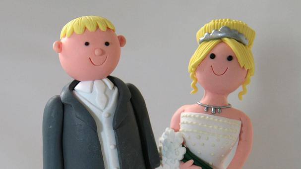 Just over half of people in England and Wales were married last year