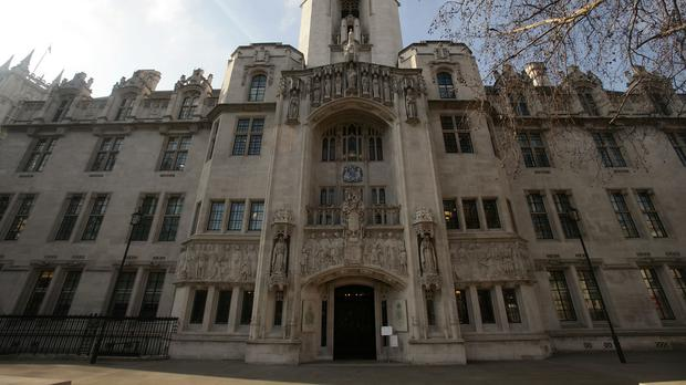 Five justices at the Supreme Court in London (pictured) unanimously allowed the appeal