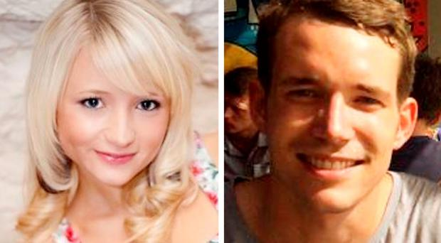 Murder victims Hannah Witheridge and David Miller