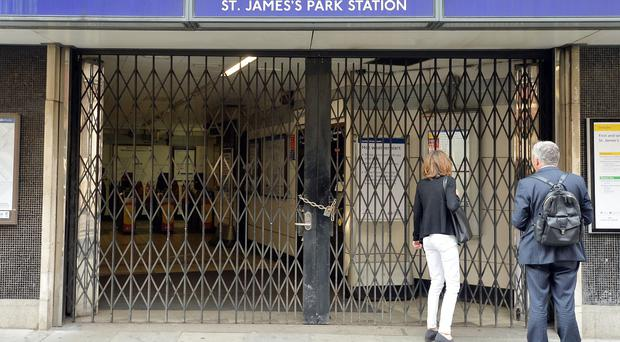 Commuters must do without the Tube when planning their journeys to and from work