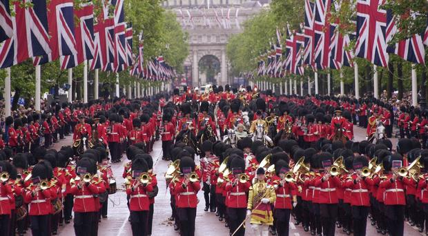 The Mall will host a hamper-style meal in honour of the Queen's charitable endeavours