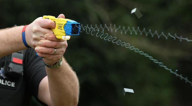 Figures show Tasers were used by police 10,062 times last year