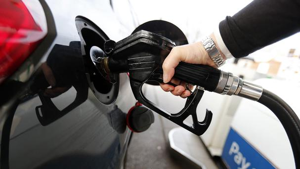 The wholesale price of diesel is now 6p a litre lower than petrol