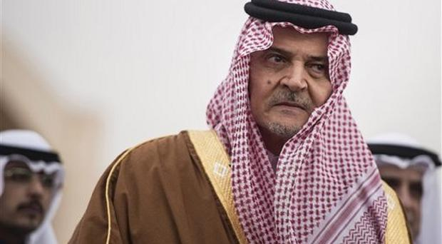 Former Saudi foreign minister Prince Saud al-Faisal has died at the age of 75 (AP)