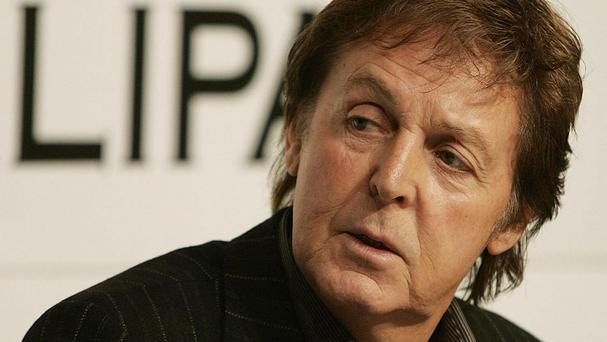 Sir Paul McCartney said the Government would lose the support of the people of Britain