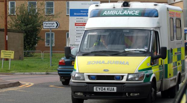 A report says that ambulances must keep sat-nav systems up-to-date