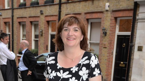 Nicky Morgan condemned
