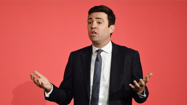 Andy Burnham and the other Labour leadership contenders have been taking part in a hustings event
