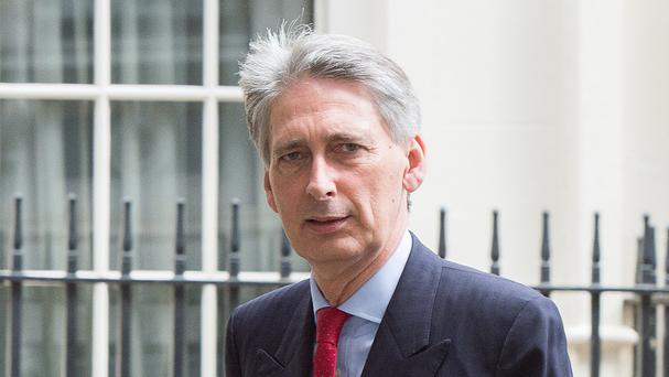 Foreign Secretary Philip Hammond condemned the actions of a