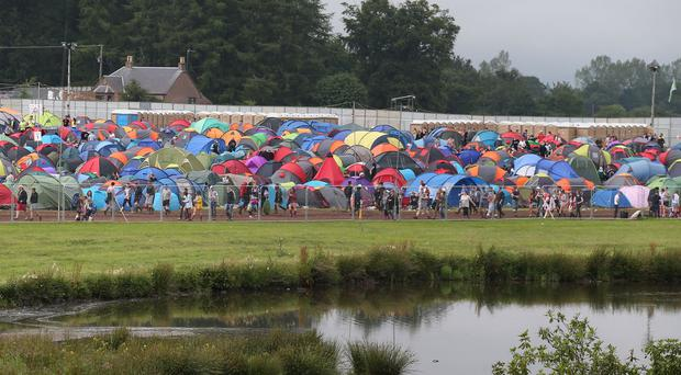 The festival is taking place at Strathallan Castle in Perthshire for the first time