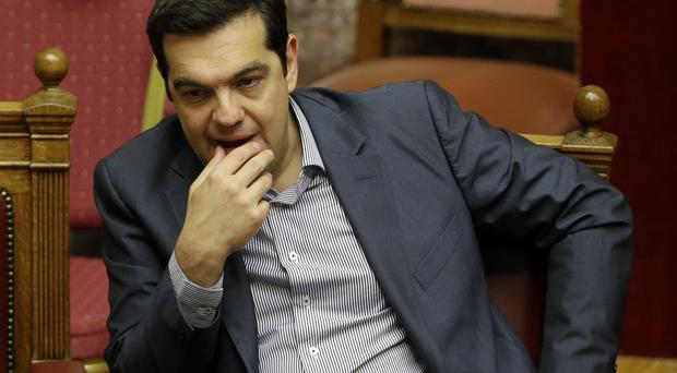 Greece's prime minister Alexis Tsipras is pushing for a new bailout from eurozone creditors (AP)