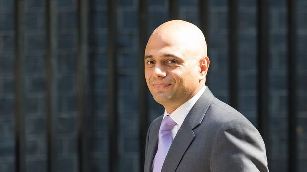 Business Secretary Sajid Javid called on UK Muslims to do more to tackle what he called