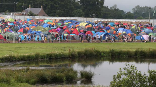 Andrew West was found dead at the T in the Park music festival at Strathallan in Perthshire