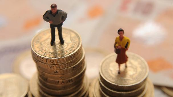 The personal insolvency rate for women overtook that for men in 2014