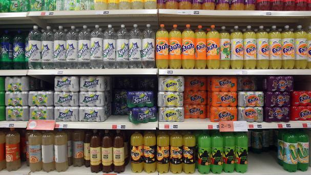 A report says that a tax on sugary drinks will penalise people on lower incomes