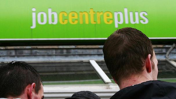 The new figures end the two-year downward trend in unemployment figures