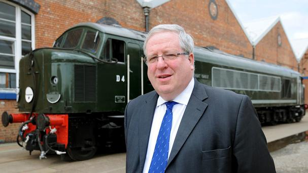 Patrick McLoughlin defended the Government's decision to pause work on two key routes